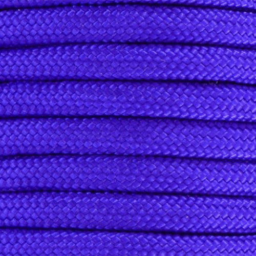 550 Paracord Solid Colors 50ft Hanks - Acid Purple - Shop Robbys - 2