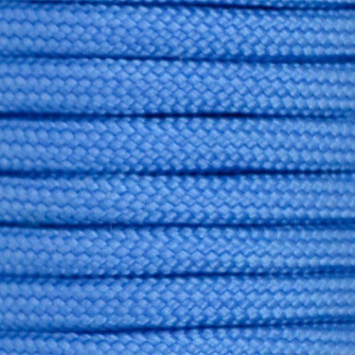 550 Paracord Solid Colors 50ft Hanks - Baby Blue - Shop Robbys - 3