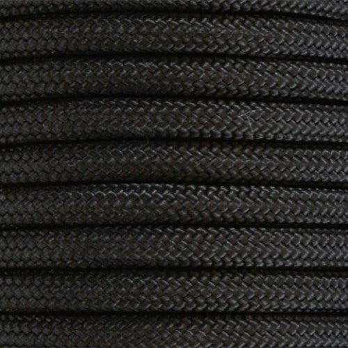 550 Paracord Solid Colors 50ft Hanks - Black - Shop Robbys - 4