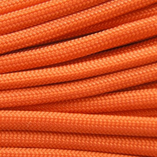 550 Paracord Solid Colors 50ft Hanks - Burnt Orange - Shop Robbys - 7
