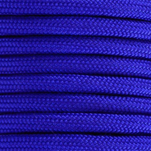 550 Paracord Solid Colors 50ft Hanks - Electric Blue - Shop Robbys - 16