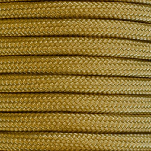 550 Paracord Solid Colors 50ft Hanks - Gold - Shop Robbys - 19