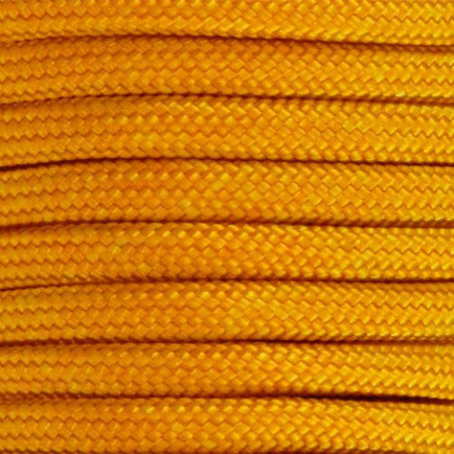 550 Paracord Solid Colors 50ft Hanks - Goldenrod - Shop Robbys - 20