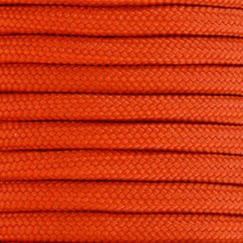 550 Paracord Solid Colors 50ft Hanks - International Orange - Shop Robbys - 23