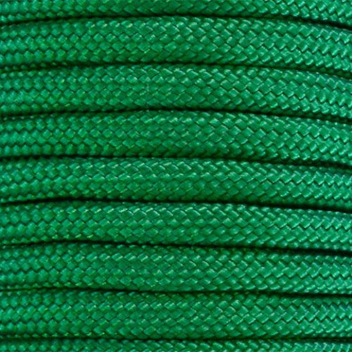 550 Paracord Solid Colors 50ft Hanks - Kelly Green - Shop Robbys - 24