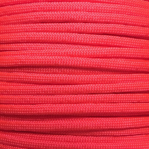 550 Paracord Solid Colors 50ft Hanks - Neon Coral - Shop Robbys - 32