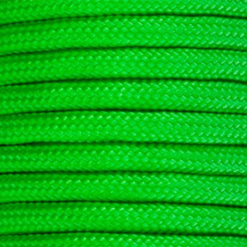 550 Paracord Solid Colors 50ft Hanks - Neon Green - Shop Robbys - 33