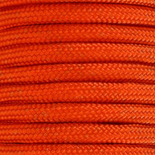 550 Paracord Solid Colors 50ft Hanks - Neon Orange - Shop Robbys - 34
