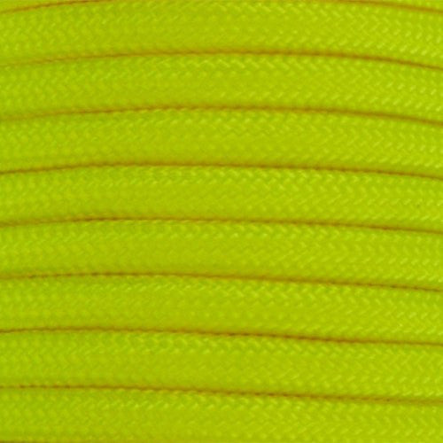 550 Paracord Solid Colors 50ft Hanks - Neon Yellow - Shop Robbys - 37
