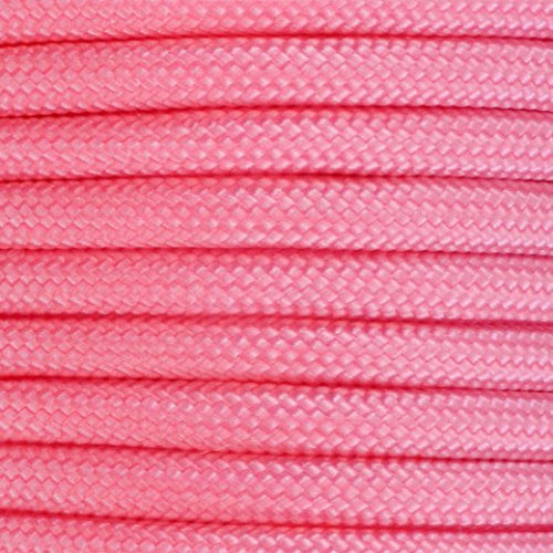 550 Paracord Solid Colors 50ft Hanks - Rose Pink - Shop Robbys - 42