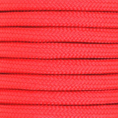 550 Paracord Solid Colors 50ft Hanks - Scarlet Red - Shop Robbys - 45