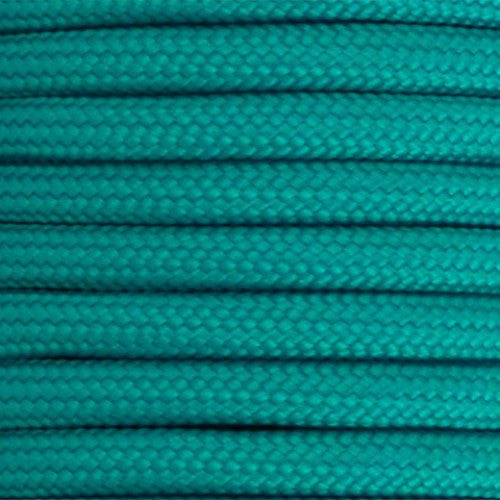 550 Paracord Solid Colors 50ft Hanks - Turquoise - Shop Robbys - 51