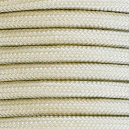 550 Paracord Solid Colors 50ft Hanks - White - Shop Robbys - 52
