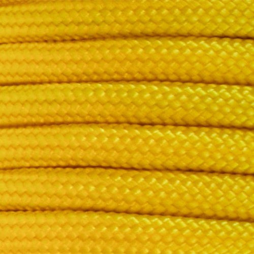 550 Paracord Solid Colors 50ft Hanks - Yellow - Shop Robbys - 53