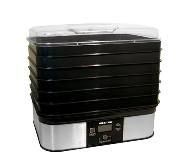 Weston 6 Tray Digital Food Dehydrator #75-0401-W