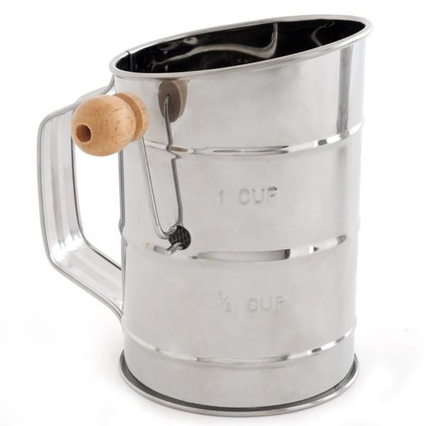 Norpro Stainless Rotary Sifter 3cup #136 -  - Shop Robbys