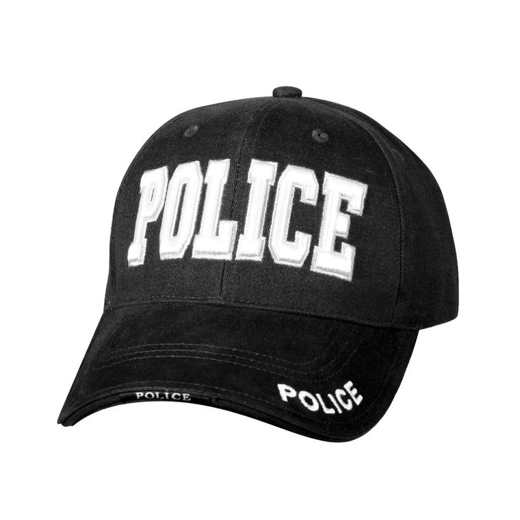Rothco Low Profile Police Cap Black #9383