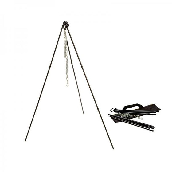 "Lodge Adjustable Camp Tripod w/ Tote Bag 40-60"" ATP2 -  - Shop Robbys"