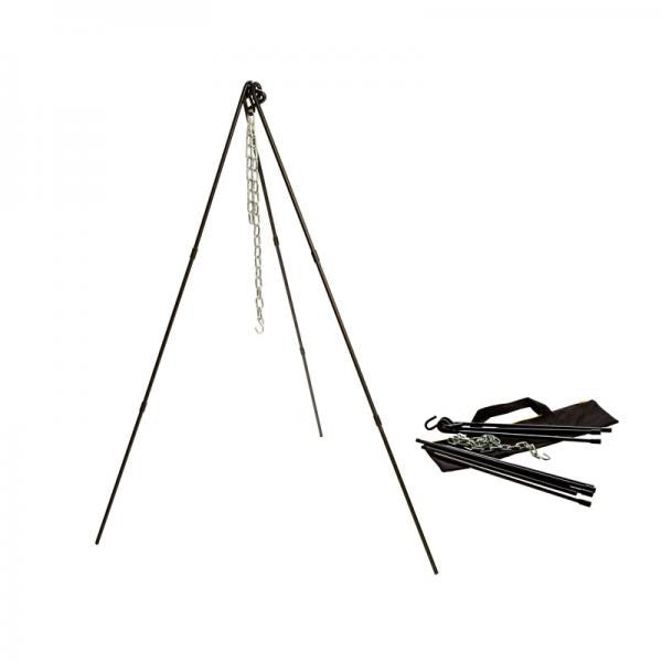 "Lodge Adjustable Camp Tripod w/ Tote Bag 40-60"" ATP2 - Shop Robbys"