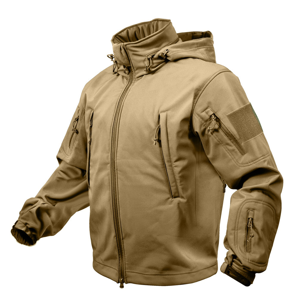 Rothco Special Ops Tactical Soft Shell Jacket Coyote #9867
