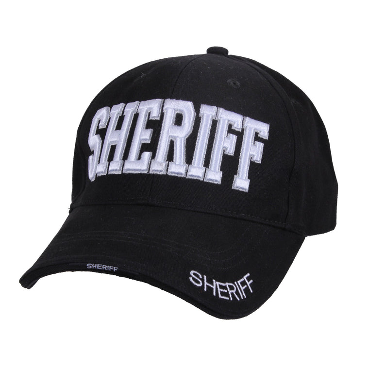 Rothco Sheriff Low Profile Cap Black #99385