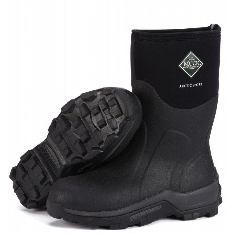 Muck Boots Arctic Sport Mid Black -  - Shop Robbys