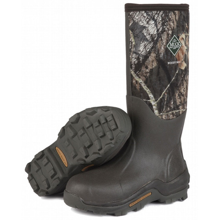 Muck Boots Woody Max Mossy Oak WDM-MOCT -  - Shop Robbys