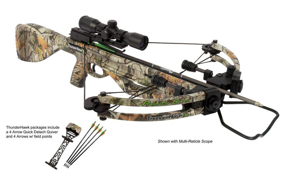 Parker ThunderHawk w/ 4X Multi-Reticle Scope X221-MR - Shop Robbys