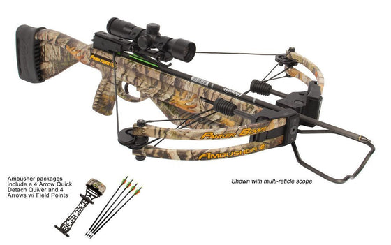 Parker Ambusher w/ 4X Multi-Reticle Scope X310-MR -  - Shop Robbys