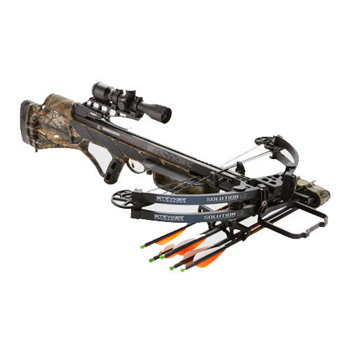 Stryker Solution LS Camo Crossbow Package A12405 -  - Shop Robbys