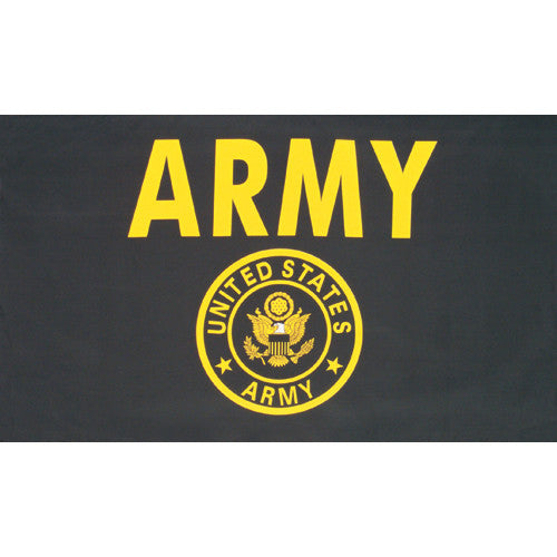 US Army Gold Flag 3'x5' #84-023 -  - Shop Robbys