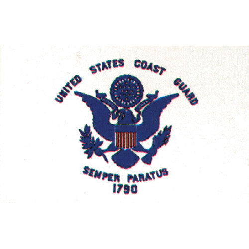 US Coast Guard Flag 3'x5' #84-06 -  - Shop Robbys