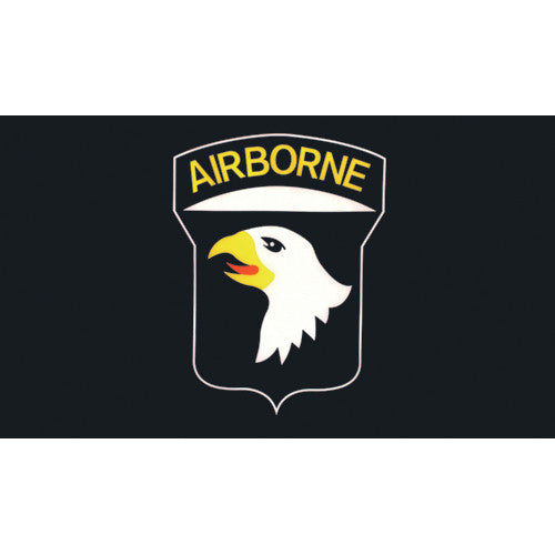 101st Airborne Division Flag 3'x5' #84-112 -  - Shop Robbys