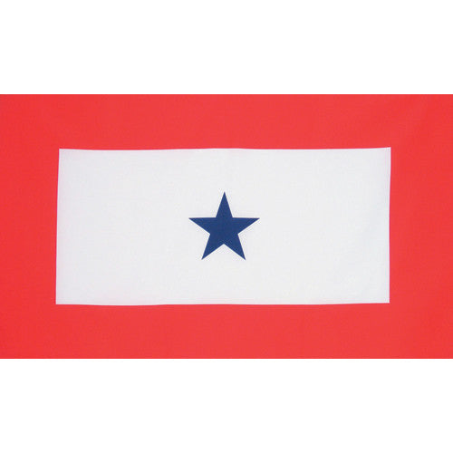 One Blue Star Flag 3'x5' #84-43 -  - Shop Robbys
