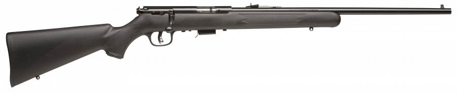 Savage Mark II 22LR Black Synthetic / Blued #26700 -  - Shop Robbys