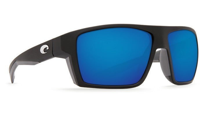 Coasta Del Mar Bloke - Matte Black / Matte Gray / Blue Mirror 580P BLK 124 OBMP -  - Shop Robbys - 1