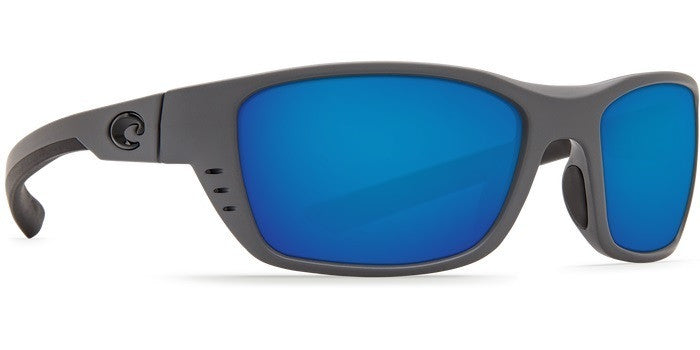 Costa Del Mar Whitetip - Matte Grey / Blue Mirror 580P WTP98OBMP - Shop Robbys