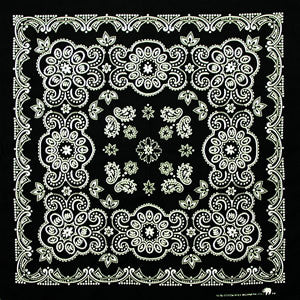 "100% Cotton Texas Size 27""X27"" Bandanas - Shop Robbys"