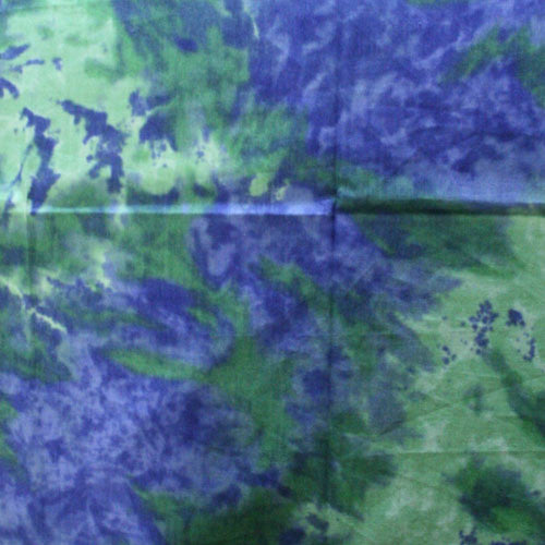 100% Cotton Tie Dye Bandanas - Blue / Green - Shop Robbys - 9