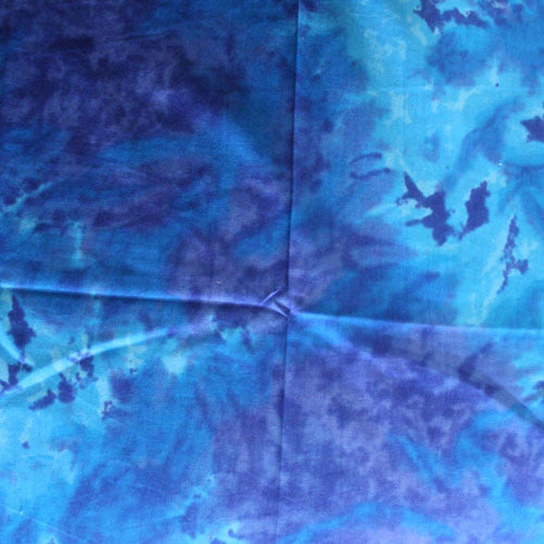 100% Cotton Tie Dye Bandanas - Blue / Purple - Shop Robbys - 10