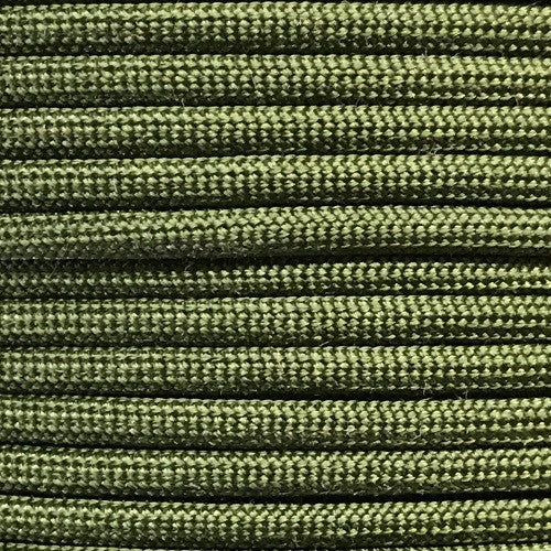 550 Paracord Solid Colors 50ft Hanks - Camo Green - Shop Robbys - 8