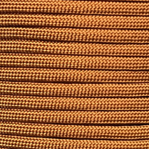 550 Paracord Solid Colors 50ft Hanks - Copper - Shop Robbys - 13