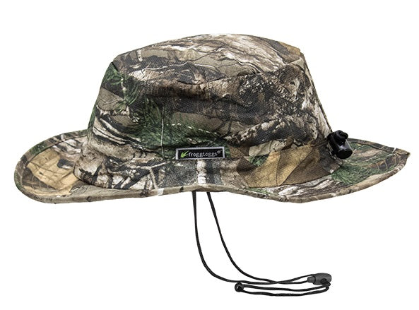 Frogg Toggs FTH101-54 Bucket Hat Waterproof Realtree Xtra