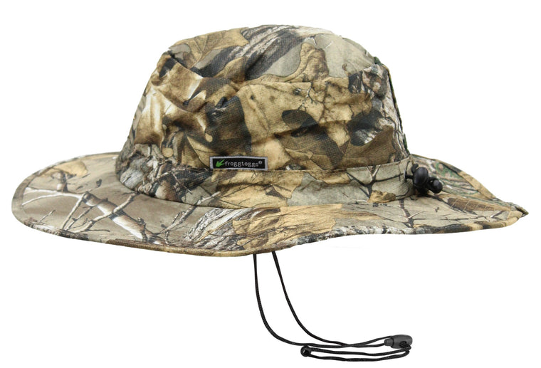 Frogg Toggs FTH103-54 Waterproof Boonie Hat Realtree Xtra