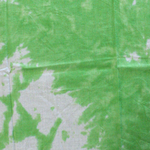 100% Cotton Tie Dye Bandanas - Green / White - Shop Robbys - 12
