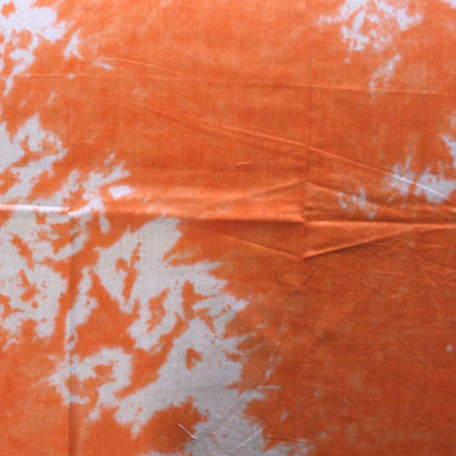 100% Cotton Tie Dye Bandanas - Orange / White - Shop Robbys - 13