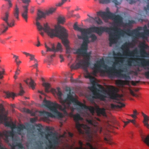 100% Cotton Tie Dye Bandanas - Red / Black - Shop Robbys - 3