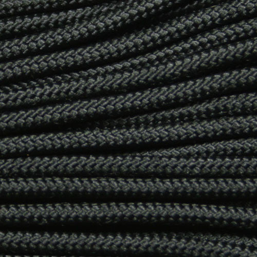 "275 Tactical Paracord 3/32"" X 100' - Black - Shop Robbys - 10"