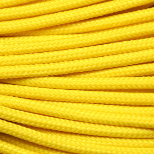 "275 Tactical Paracord 3/32"" X 100' - Yellow - Shop Robbys - 7"