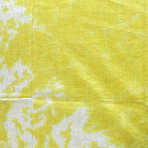 100% Cotton Tie Dye Bandanas - Yellow / White - Shop Robbys - 7